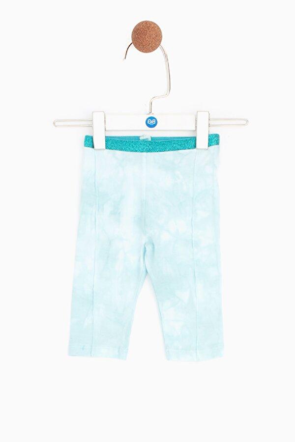Resim Kız Bebek Mavi Tayt