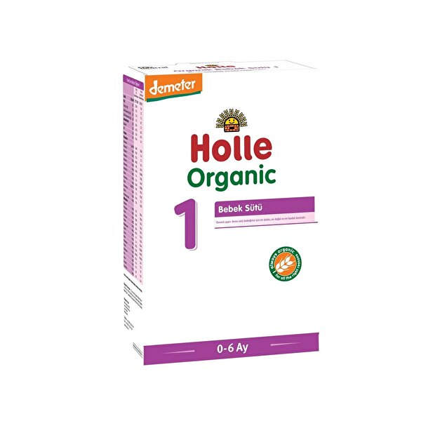 Resim Holle Organik Bebek Sütü 1 400 gr - 7640161878792