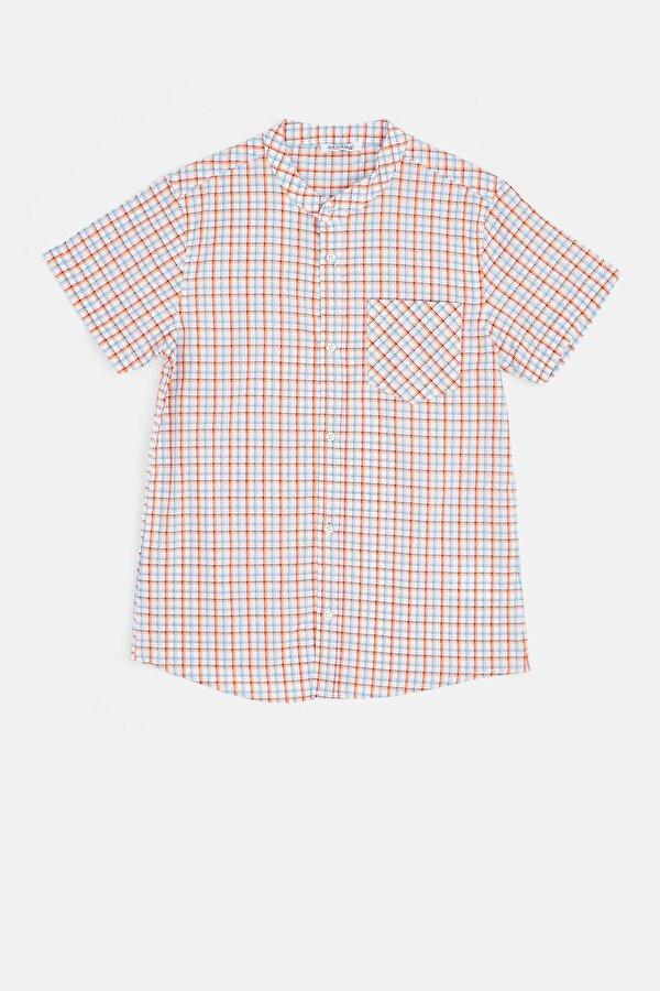 Resim Erkek Çocuk Ekose Gömlek