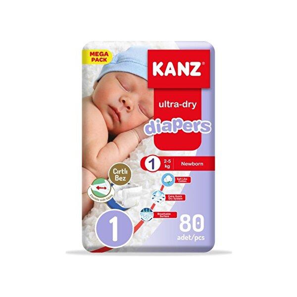 Resim KANZ - 1 NO 80 ADET 2-5KG MEGA PACK