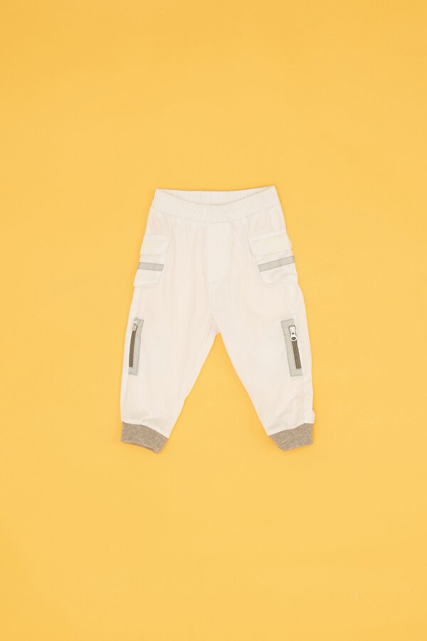Resim Erkek Bebek Beyaz Pantolon