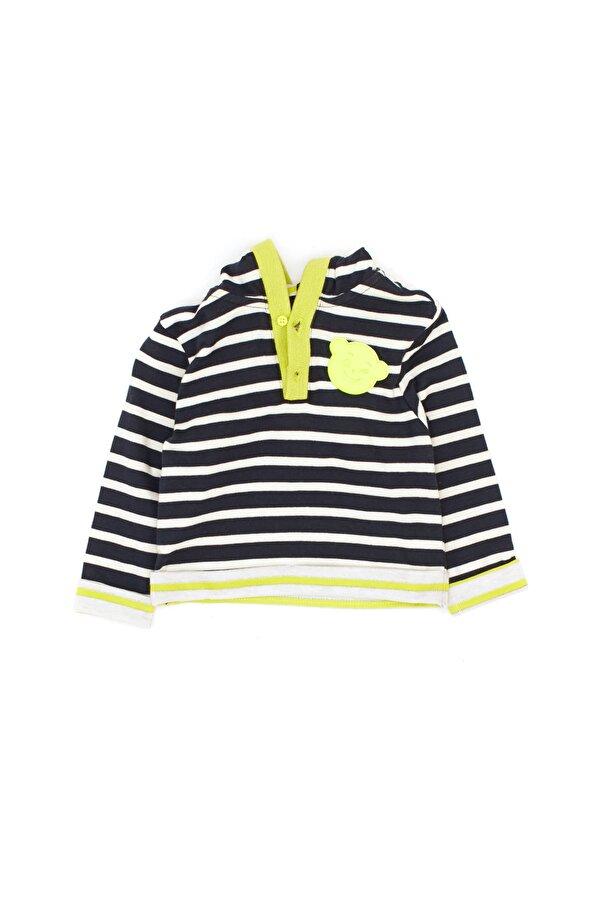 Resim Erkek Bebek Lacivert Sweatshirt