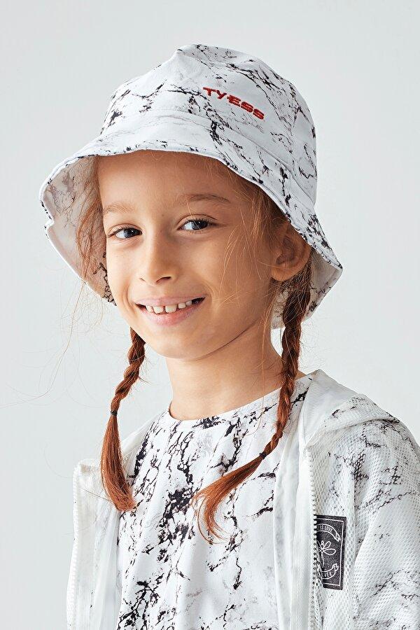 Resim Kız Çocuk Desenli Şapka