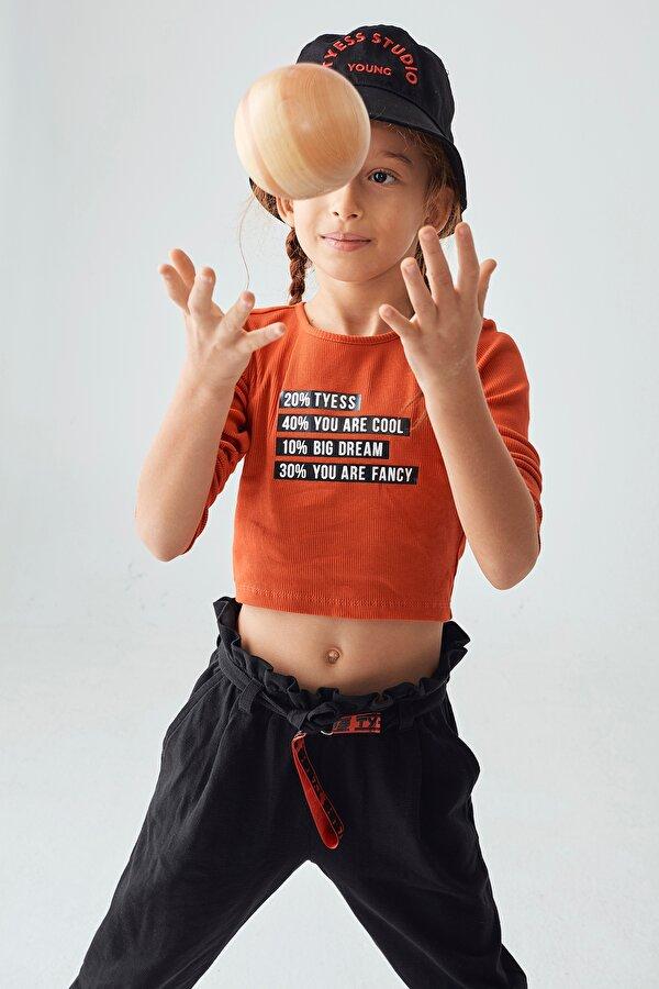 Resim Kız Çocuk Kırmızı Bluz