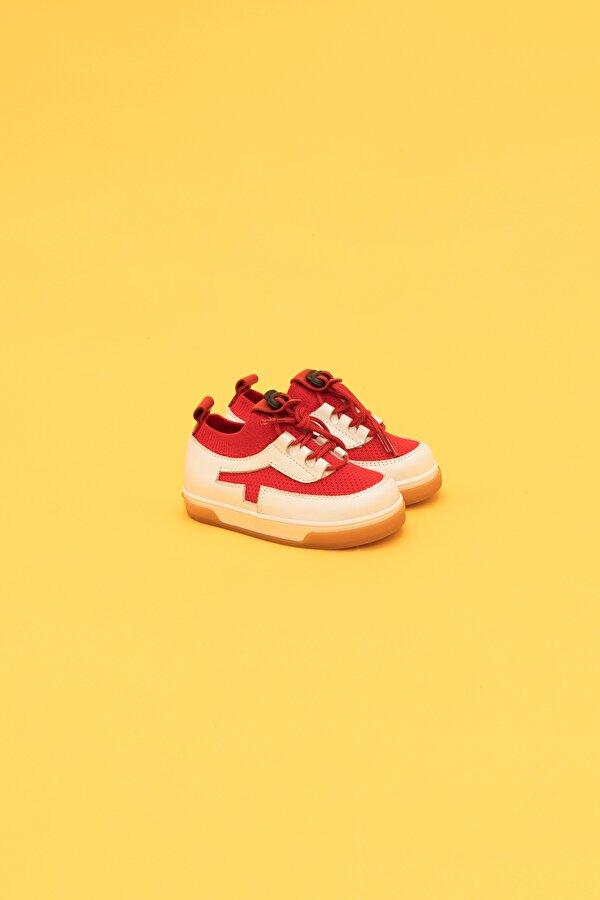 Resim Erkek Bebek Kırmızı Ayakkabı