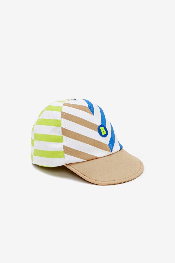 Resim Erkek Bebek Desenli Şapka