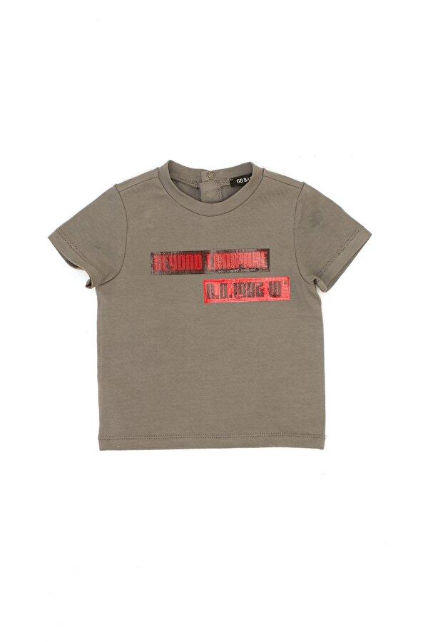 Resim Erkek Bebek Antrasit T-Shirt