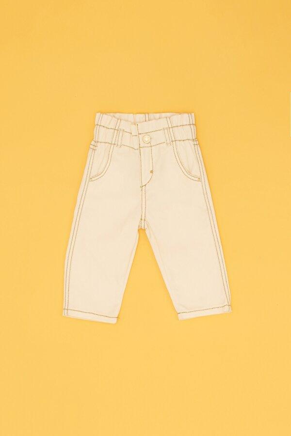 Resim Kız Bebek Bej Pantolon