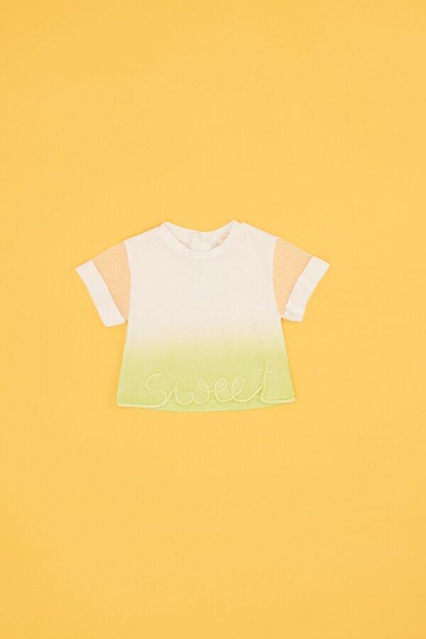 Resim Kız Bebek Batik T-Shirt