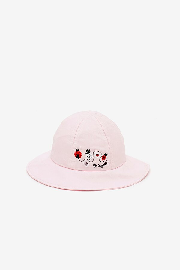 Resim Kız Bebek Pembe Şapka