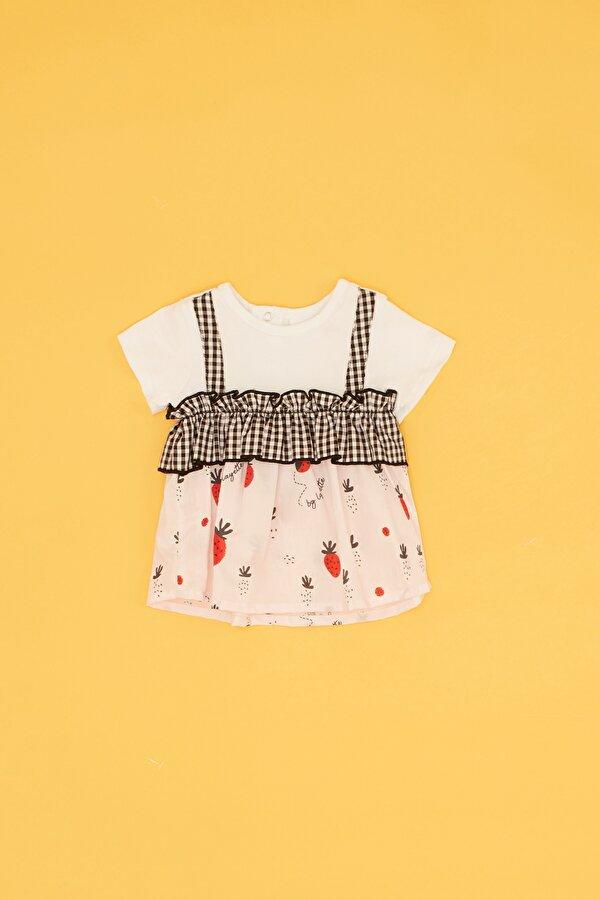 Resim Kız Bebek Desenli Tunik Takımı