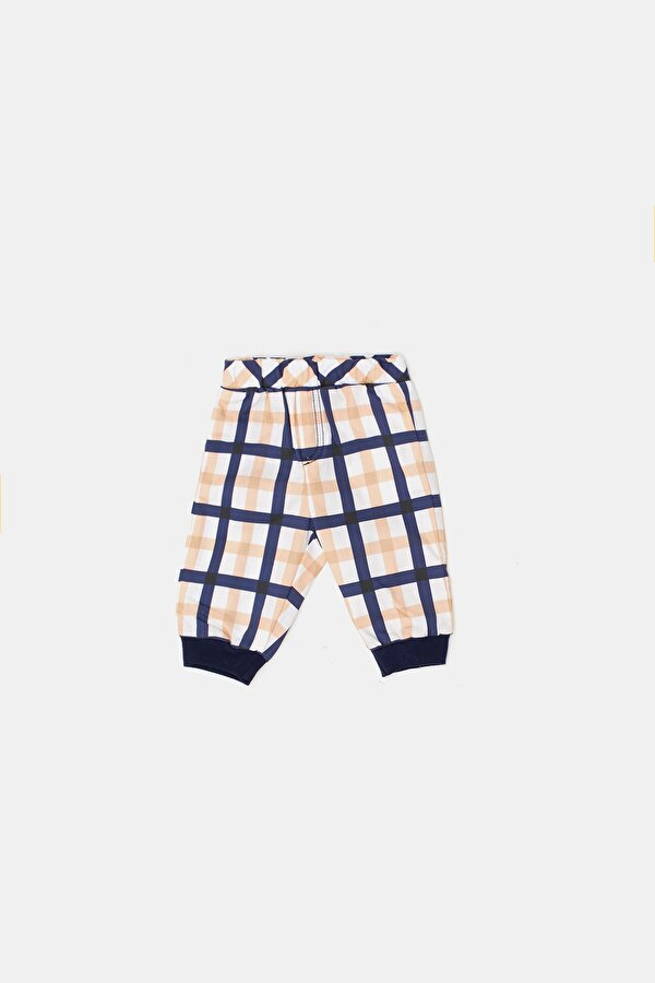 Resim Erkek Bebek Ekose Pantolon