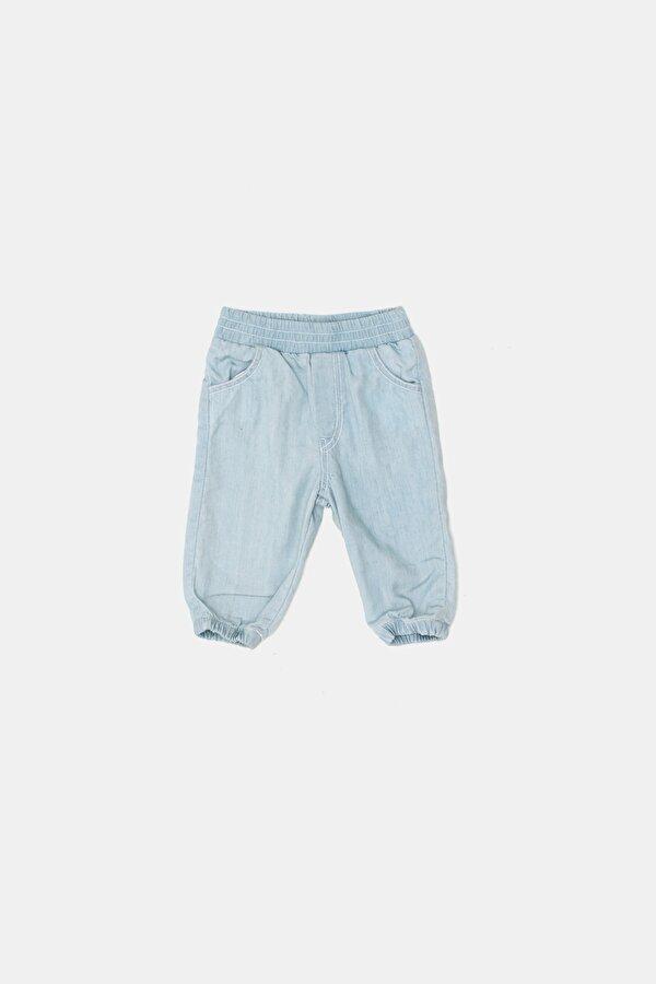 Resim Erkek Bebek Mavi Pantolon