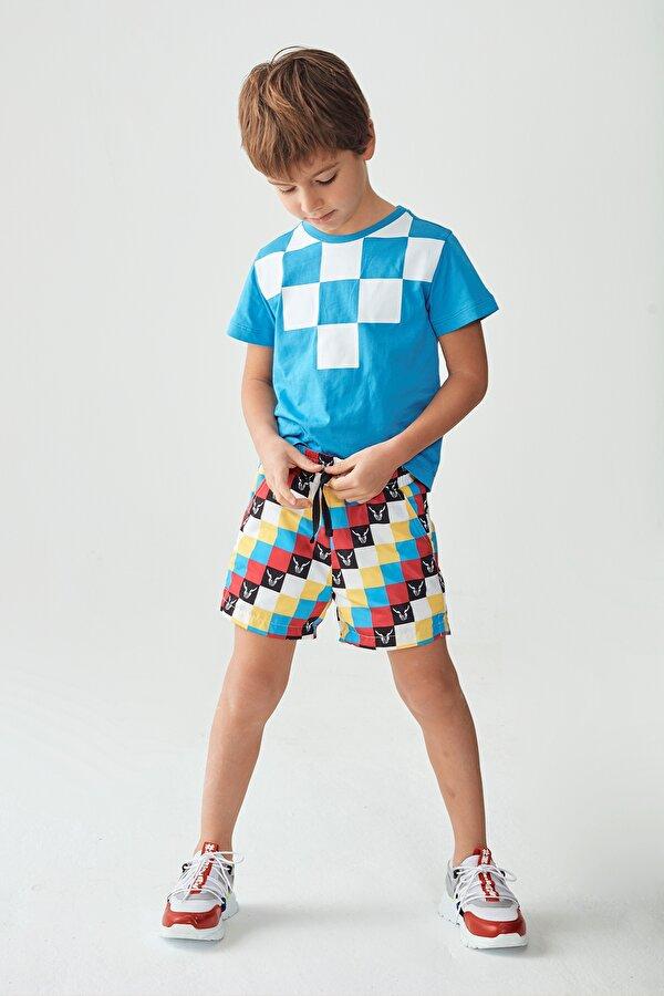 Resim Erkek Çocuk Desenli Şort