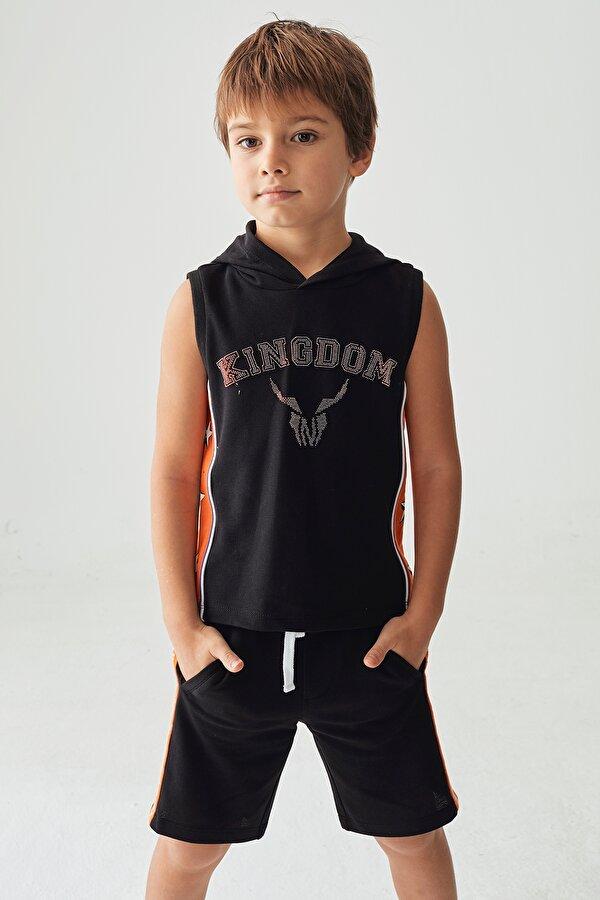 Resim Erkek Çocuk Siyah Sweatshirt