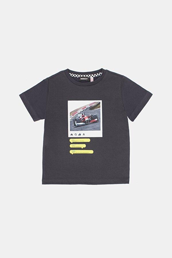 Resim Erkek Çocuk Antrasit T-Shirt