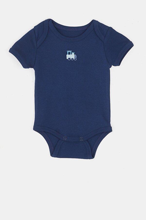 Resim Erkek Bebek Desenli 3lü Body