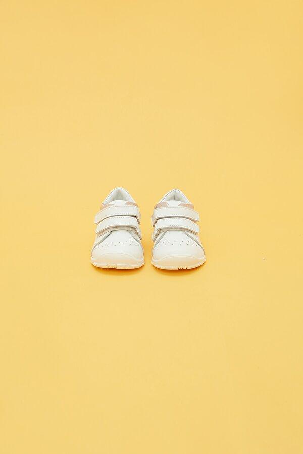 Resim Kız Bebek Beyaz Sneaker