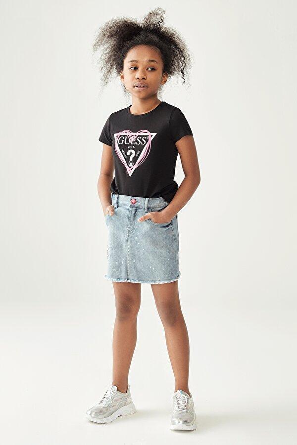 Resim Kız Çocuk Jean Etek