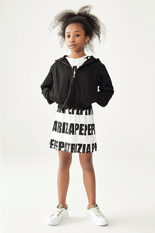 Resim Kız Çocuk Siyah Eşofman Üstü