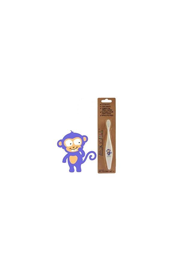 Resim Jack N'Jill Mısır Koçanı Diş Fırçası Monkey - 9312657201121