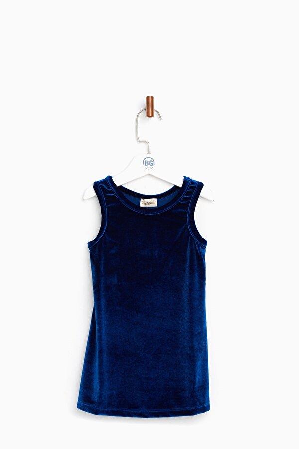 Resim Kız Bebek Lacivert Elbise