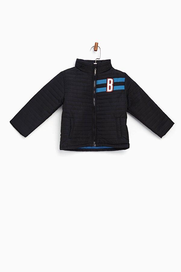 Resim Erkek Bebek Siyah Mont