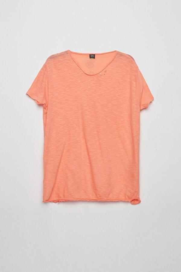 Resim Erkek Çocuk Şeftali T-Shirt