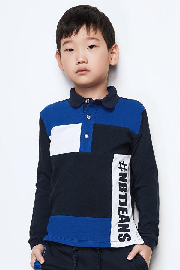 Resim Erkek Çocuk Lacivert T-Shirt
