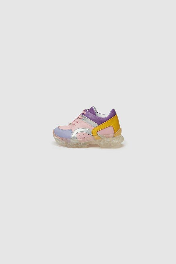 Resim Kız Bebek Renkli Sneakers
