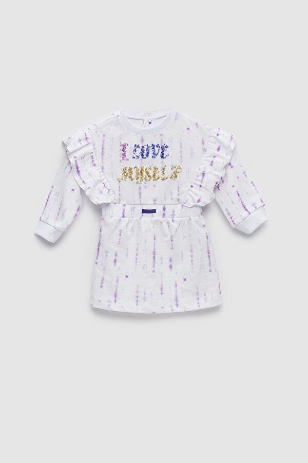 Resim Kız Bebek Batik Elbise