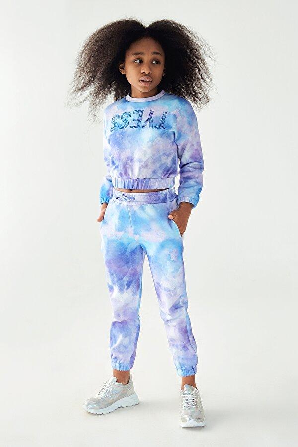 Resim Kız Çocuk Batik Eşofman Altı