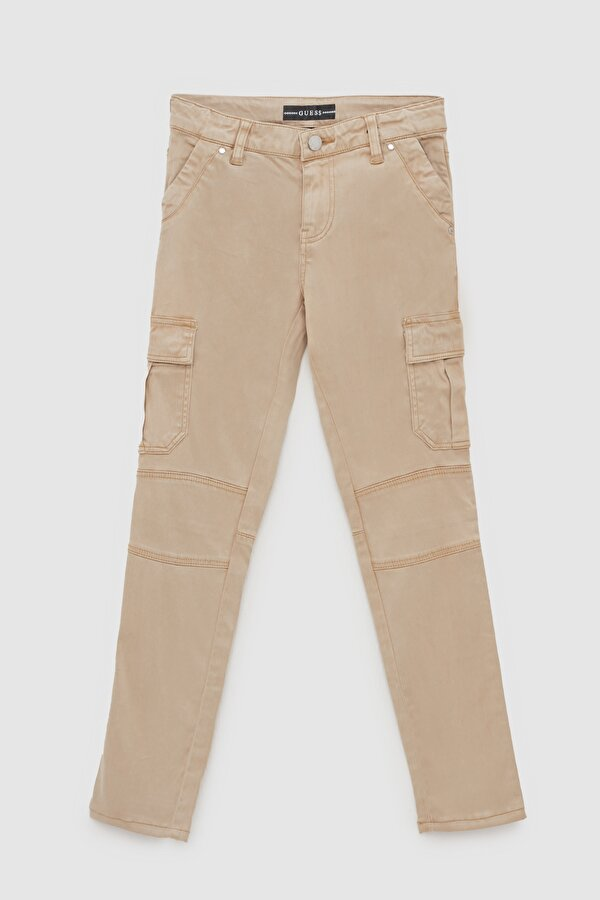 Resim Kız Çocuk Kamel Pantolon