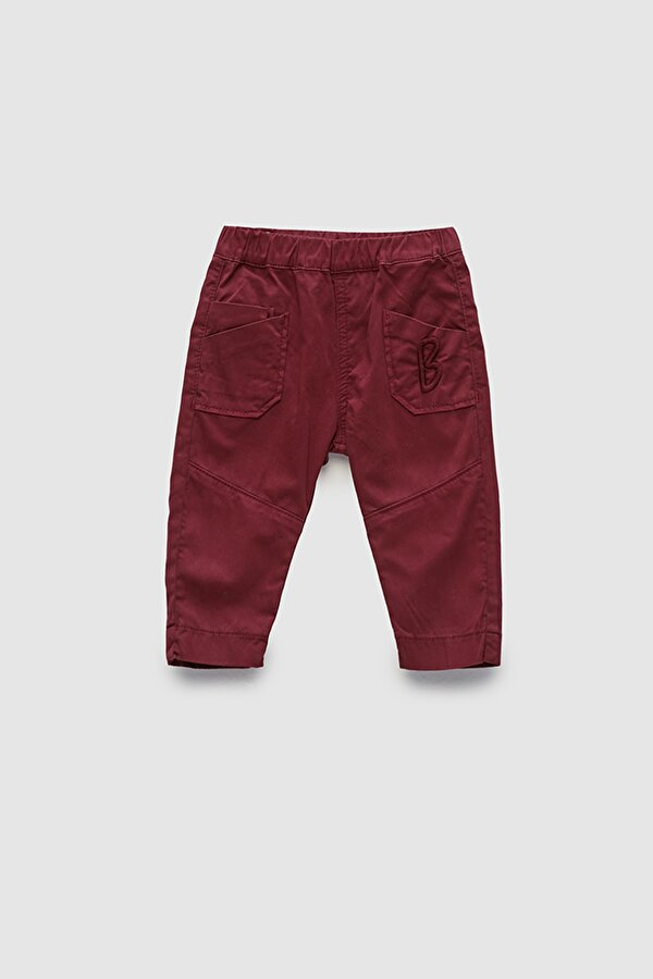 Resim Erkek Bebek Bordo Pantolon