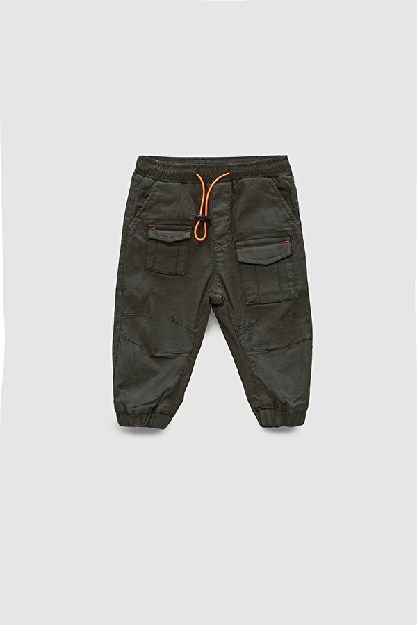 Resim Erkek Bebek Haki Pantolon