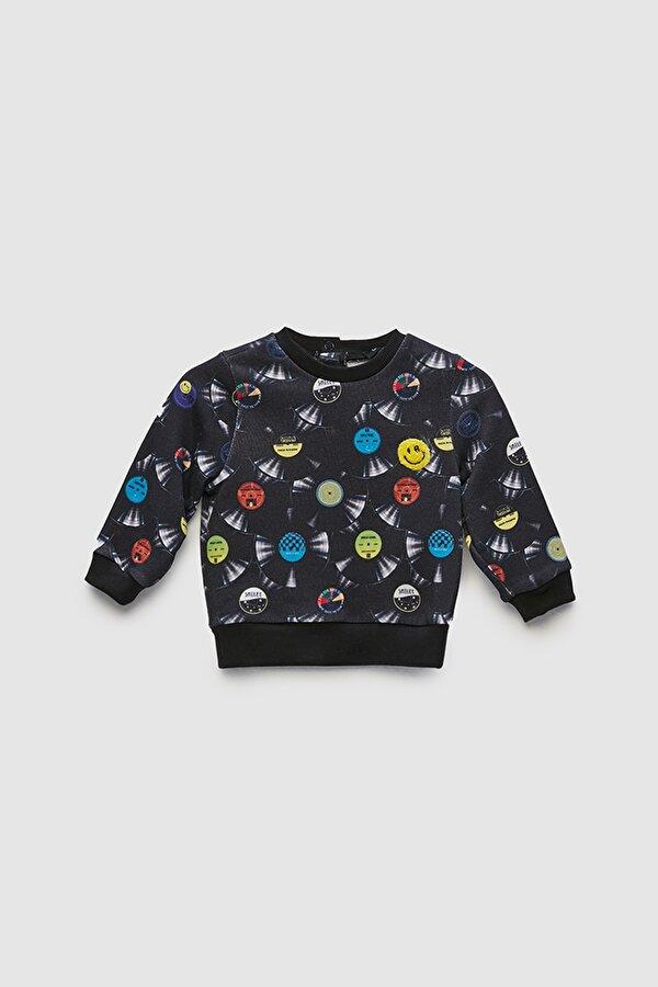 Resim Erkek Bebek Desenli S-Shirt