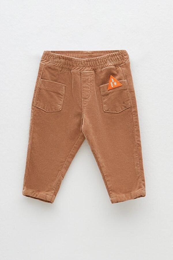 Resim Erkek Bebek Bej Pantolon