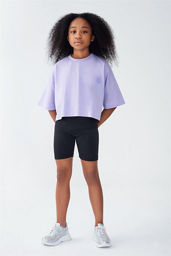 Resim Kız Çocuk Siyah Tayt