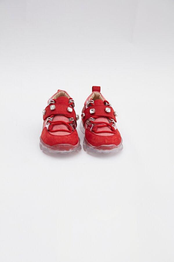 Resim Kız Bebek Kırmızı Ayakkabı